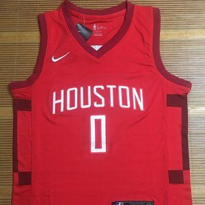 NEW Nike Houston Rockets Russell Westbrook Jersey